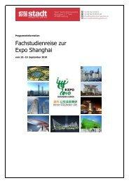 Fachstudienreise zur Expo Shanghai - Altstadt Salzburg