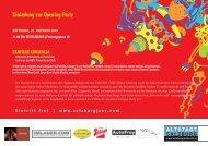 Einladung zur Opening Party - Altstadt Salzburg
