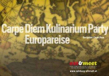 Einladungskarte Carpe Diem PDF Format, 141 Kb - Altstadt Salzburg