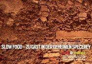 slow food – zu gast in der geheimen specerey - Altstadt Salzburg