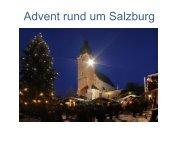 Adventveranstaltungen rund um Salzburg 2012