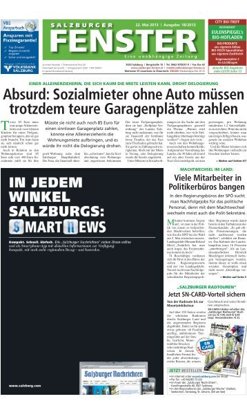 18/2013 - Salzburger Fenster