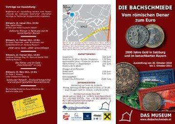 Vom römischen Denar zum Euro. - Verein der Freunde der ...