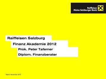 Wirtschaft Teil 1 - Salzburger Schulsponsoring