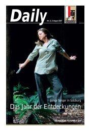 Das Jahr der Entdeckungen - Salzburger Festspiele