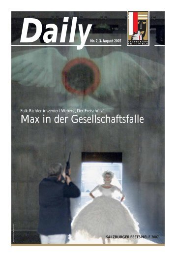 Max in der Gesellschaftsfalle - Salzburger Festspiele