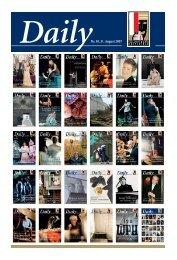 DailyNr. 30, 31. August 2007 - Salzburger Festspiele