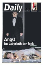 Daily #4 als PDF downloaden - Salzburger Festspiele