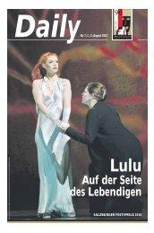 Daily #7 als PDF downloaden - Salzburger Festspiele