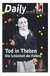 Daily #15 als PDF downloaden - Salzburger Festspiele