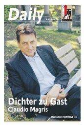 Daily #9 als PDF downloaden - Salzburger Festspiele