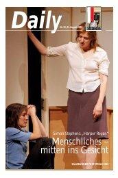 "Simon Stephens: ""Harper Regan"" - Salzburger Festspiele"