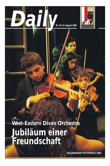 West-Eastern Divan Orchestra - Salzburger Festspiele