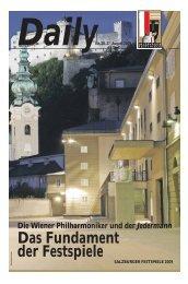 Die Wiener Philharmoniker und der Jedermann - Salzburger ...