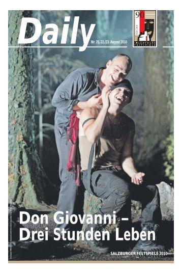 Daily #25 als PDF downloaden - Salzburger Festspiele