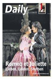 Daily #14 als PDF downloaden - Salzburger Festspiele