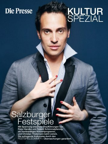 Download: Presse-Beilage Salzburger Festspiele 2011