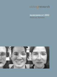 Jahresbericht 2003-NEU - Salzburg Research Forschungsgesellschaft