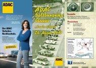 Ausschreibung/Flyer 2013 - bei der Salzburgring Classic