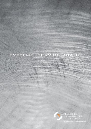 SySteme. Service. Stahl.