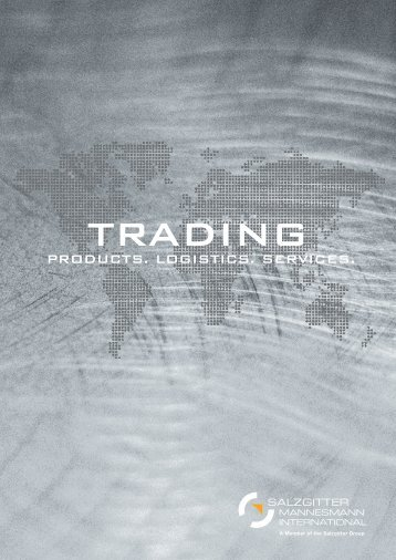 trading & products. logistics. services. - Salzgitter