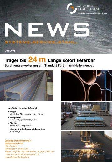 News - Salzgitter Mannesmann Stahlhandel