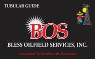 BLESS OILFIELD SERVICES, INC. - Salzgitter