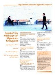 Angebote für Menschen mit Migrationshintergrund - Stadt Salzgitter