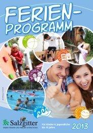 Ferienpassprogramm 2013 - Stadt Salzgitter
