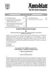 Amtliche Bekanntmachungen 81 - Stadt Salzgitter