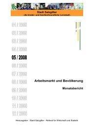 Monatsbericht Mai 2008 - Stadt Salzgitter