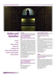 Kultur und Gestalten - Stadt Salzgitter