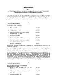 5. Satzung zur Änderung der Satzung über die Erhebung von ...