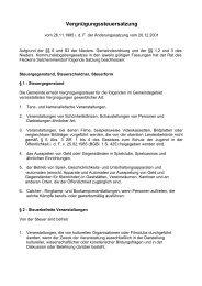 Vergnügungssteuersatzung - Flecken Salzhemmendorf