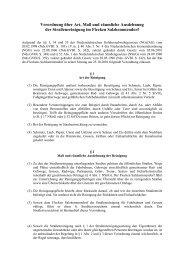 Verordnung Straßenreinigung - Flecken Salzhemmendorf
