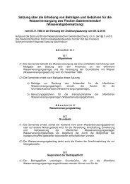 Wasserabgabensatzung - Flecken Salzhemmendorf