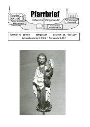 Nummer: 19 – 22/2011 Jahrgang 54 Datum: 07.05. – 05.06.2011 ...