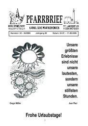 Frohe Urlaubstage! - Katholische Pfarrgemeinden Niederbreitbach ...