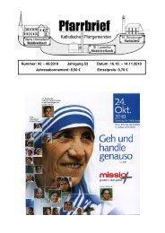 Pfarrbrief-Nr. 42-45_2010 - Katholische Pfarrgemeinden ...