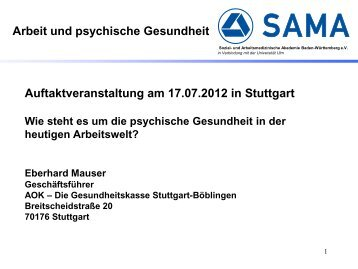 Begrüßung und Einführung [PDF 307 kB] - Sozial- und ...