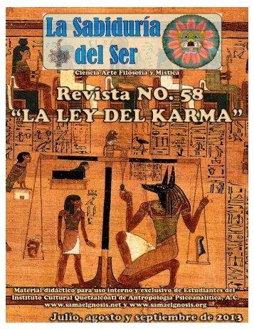Sabiduría del Ser 58 - Instituto Cultural Quetzalcoatl