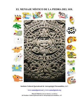 Calendario Azteca - Instituto Cultural Quetzalcoatl