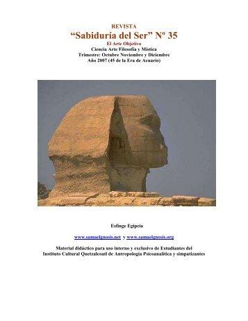 Revista Sabiduría del Ser No. 35 - Instituto Cultural Quetzalcoatl