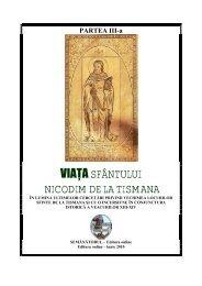 Viata Sfântului Nicodim de la Tismana - vol. III