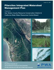 Pilarcitos Integrated Watershed Management Plan - San Mateo ...