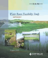 Water Reuse Feasibility Study Supplement - Sewer Authority Mid ...