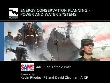 Energy Conservation Planning - Same-satx.org