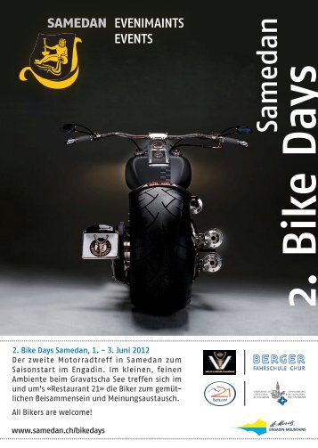 2. Bike Days - Samedan