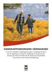 HANDIKAPPOMSORGENS VÄRDEGRUND - FUBbloggen