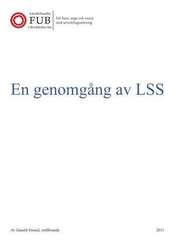 En genomgång av LSS - FUBbloggen